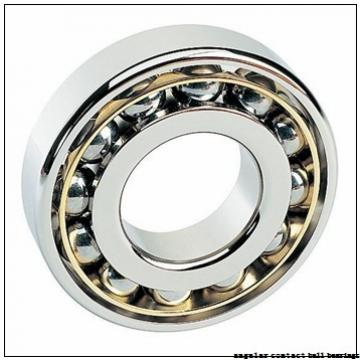 45 mm x 85 mm x 19 mm  ISO 7209 A angular contact ball bearings