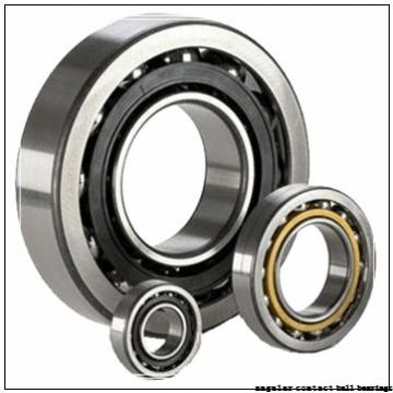 40 mm x 80 mm x 30,2 mm  ZEN S3208-2RS angular contact ball bearings