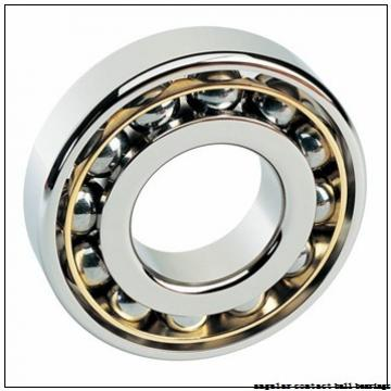 40 mm x 74 mm x 36 mm  Fersa F16080 angular contact ball bearings