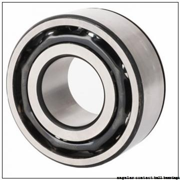 40 mm x 72 mm x 37 mm  PFI PW40720037CS angular contact ball bearings