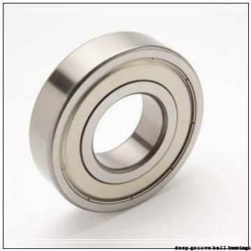3 mm x 8 mm x 3 mm  NSK F693 deep groove ball bearings