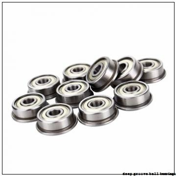 3,175 mm x 6,35 mm x 2,38 mm  ISO R144 deep groove ball bearings