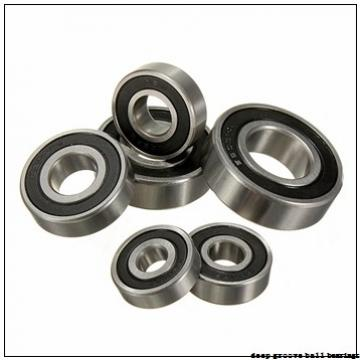 35 mm x 80 mm x 21 mm  Timken 307KD deep groove ball bearings