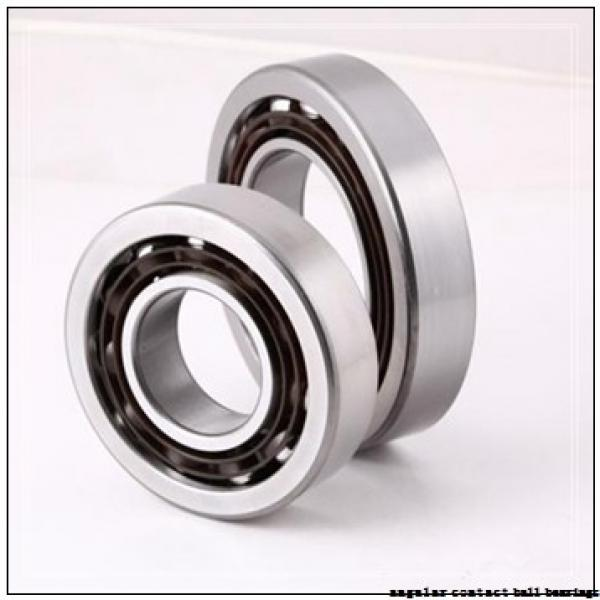 30 mm x 67 mm x 25 mm  PFI PW30670025/17CS angular contact ball bearings #1 image